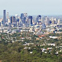 Brisbane aerial photo