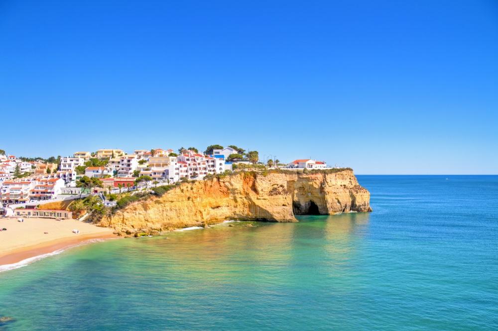 Village in Algarve, Portugal