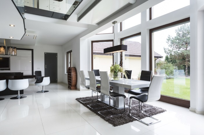 Kitchen, dining room - main room