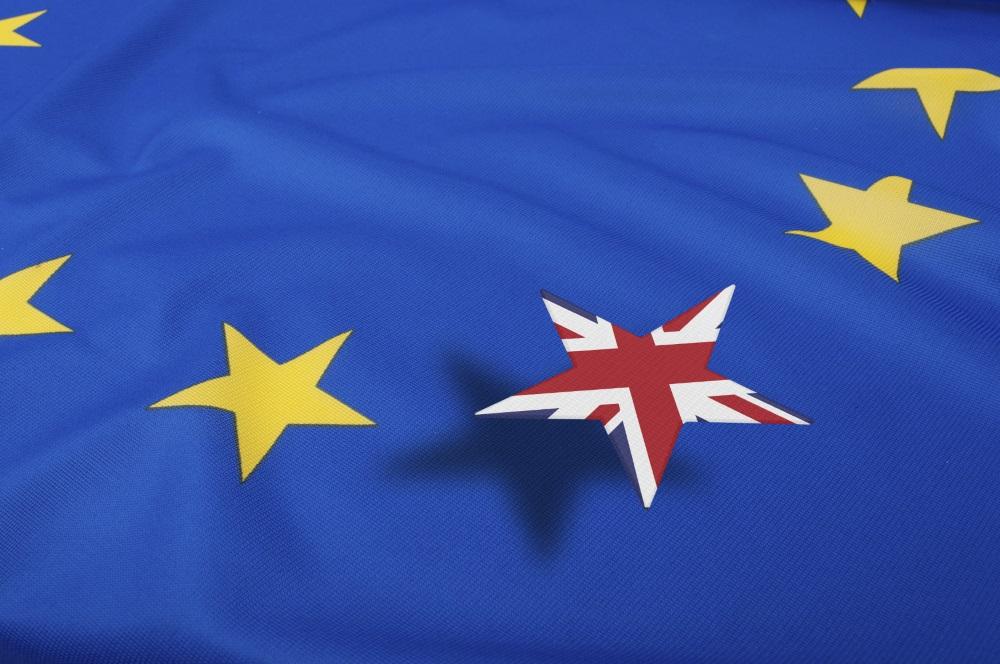 Britain eu flag
