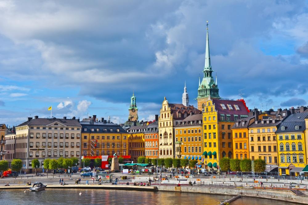 View of Gamla Stan, Stockholm, Sweden