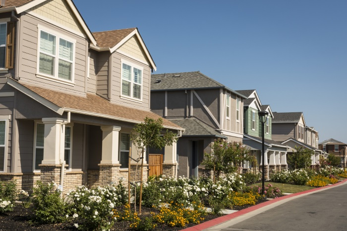 US newbuild houses