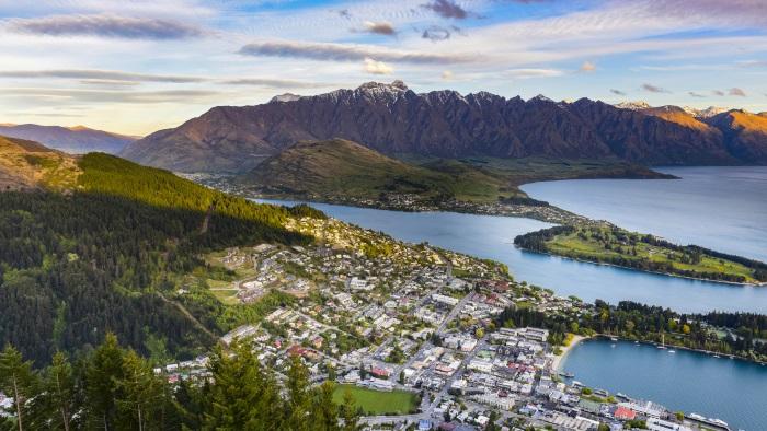 New Zealand, scenic view