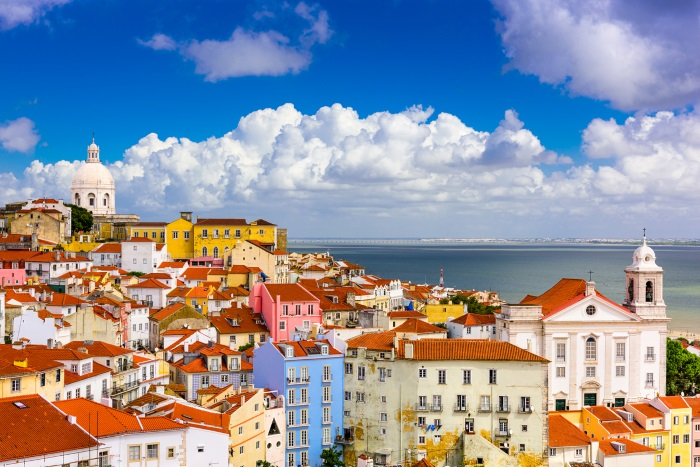 Lisbon city scape