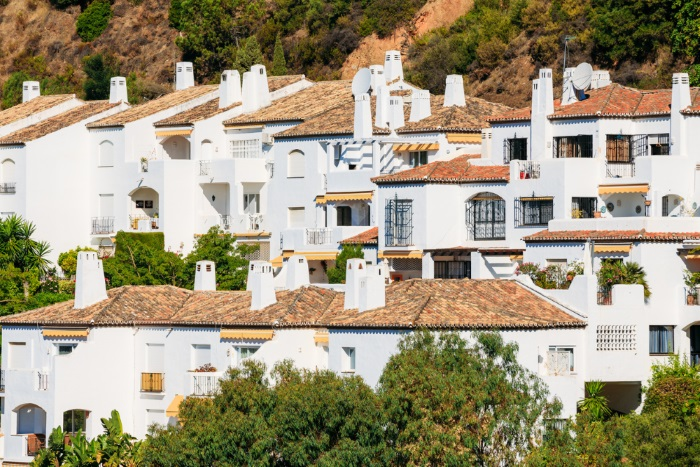 Spain property on hill