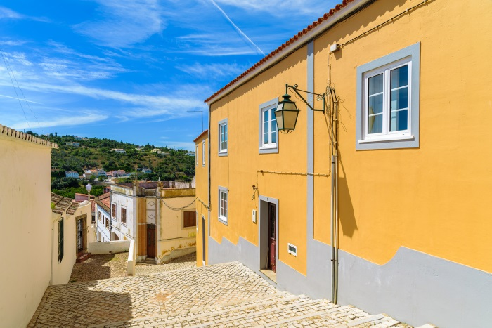 Narrow street, old town, Silves
