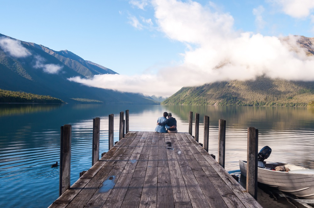 Nelson lakes national park, New Zealand