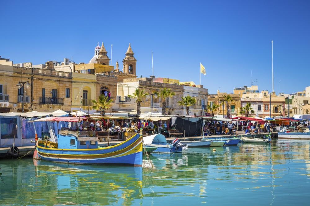 Marsaxlokk harbour, Malta