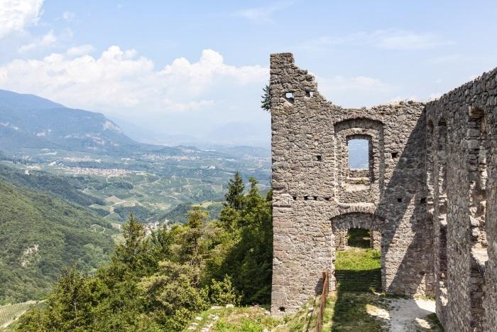 Ruined castle, Belfort, Italy