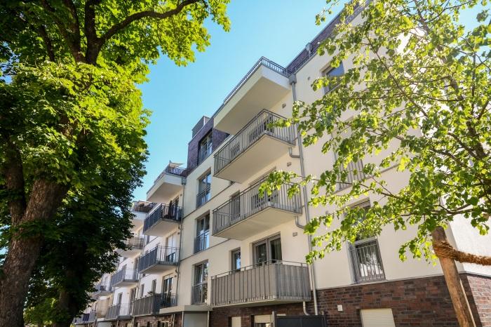German residential building