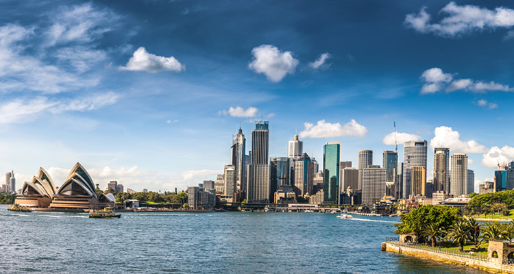 Australian skyline