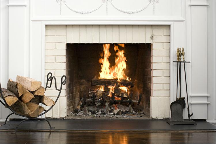 Inside - Fireplace